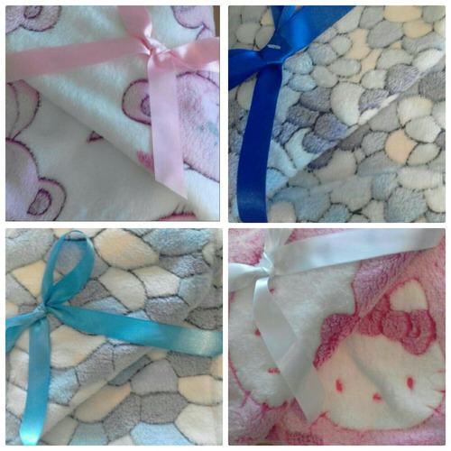 mantas termicas y reversibles importadas para bebes suaves