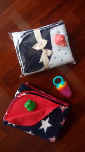 mantas/cobijas/sábana reversible e hpoalergénica, para bebés