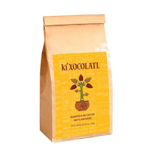 manteca de cacao 1 kg bolsa kraft