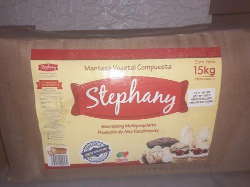 manteca stepfany 15 kilos