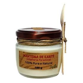 Manteiga De Karité 100% Pura E Vegana 100g Insitta