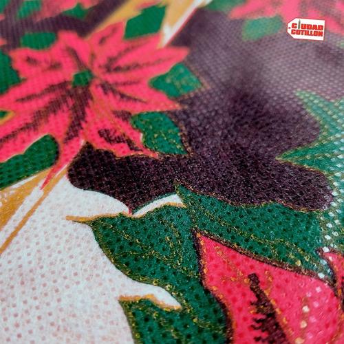mantel 1,80 x 1,20 m friselina navideño navidad - cc-online