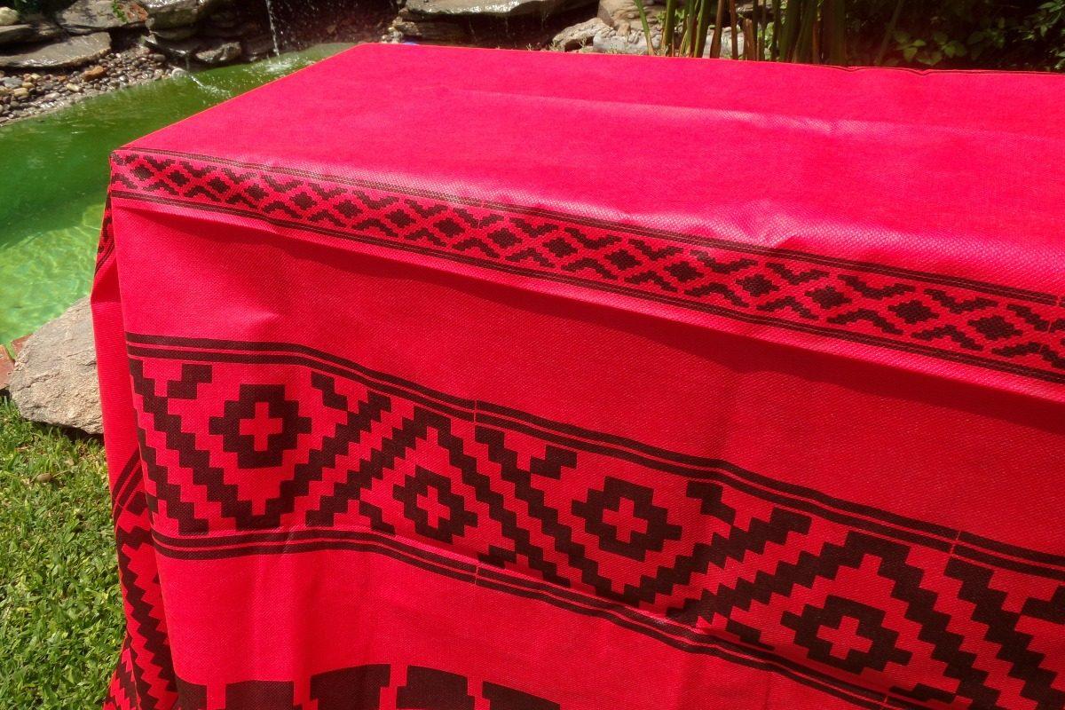 a2255ce32 Mantel Guarda Pampa Rojo Fliselina El Mejor Precio! - $ 42,00 en ...