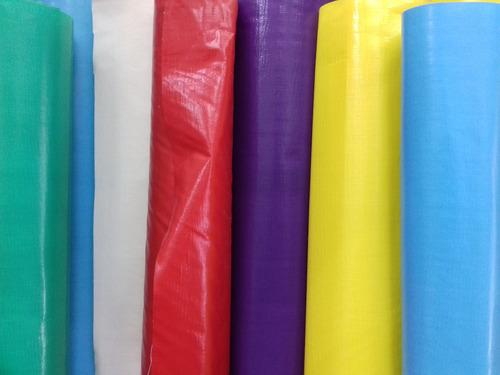 mantel hule plástico liso por metro