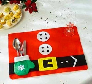 mantel individual mantelitos navidad navideños santaclos