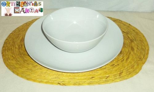 mantel individual para mesa fiestas y eventos artesania boda