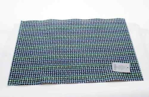 mantel individual tridimensional verde sm-431343 namaro desi