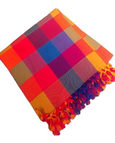 mantel mexicano cuadrado de 2 x 2 mt (2pack)