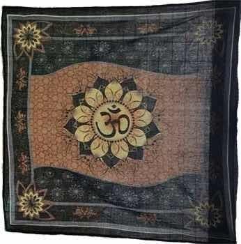 mantel para altar o decorar con om de algodón