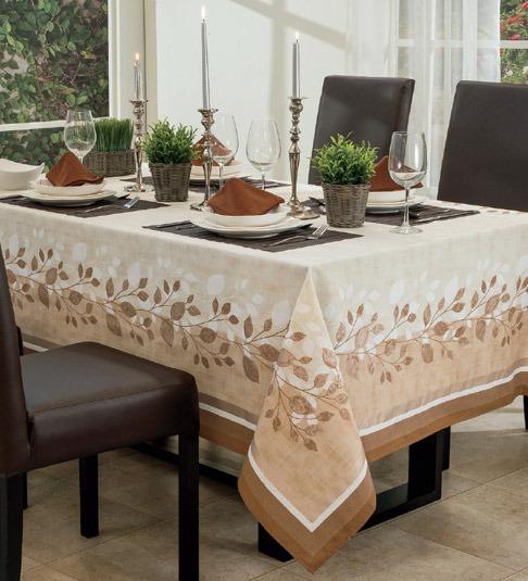 Mantel para comedor rectangular cairo vianney envio gratis en mercado libre - Manteles mesas grandes ...