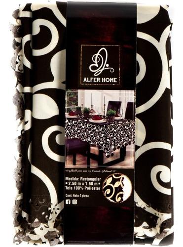 mantel rectangular estampado 2.50 x 1.50 , modelos a elegir
