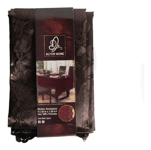 mantel rectangular grabado, 2.50 x 1.50, modelos a elegir