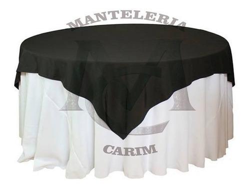 mantel redondo 3 diametro + cubre mantel 1.50x1.50