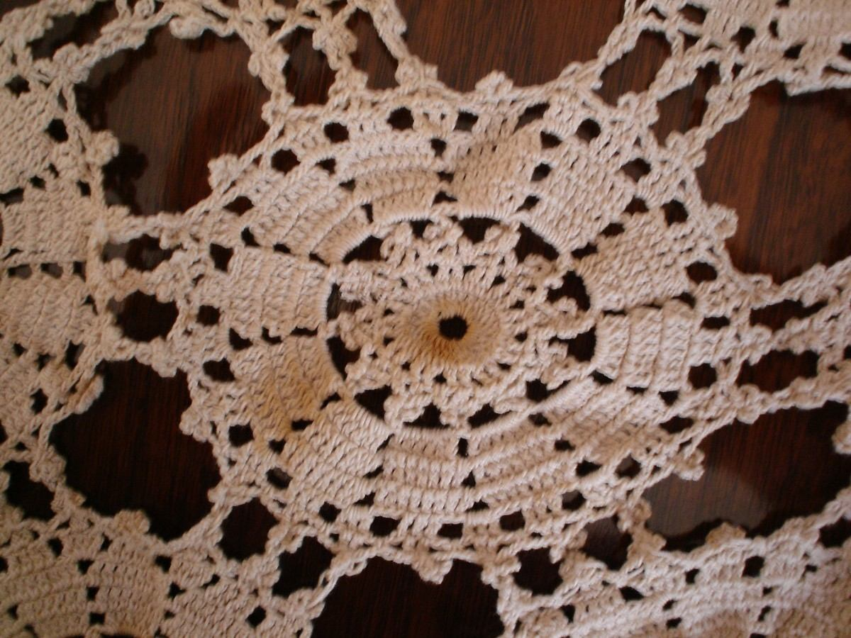 Find this Pin and more on Manteles tejidos en crochet by griselda Gimenez. Handmade Crochet Lace Tablecloth, perfect for a ladies' luncheon tea. Handmade Crochet Lace Cotton Tablecloth, Various Sizes, Shapes and Colors One piece. -- Check this awesome product by going to the link at the image.