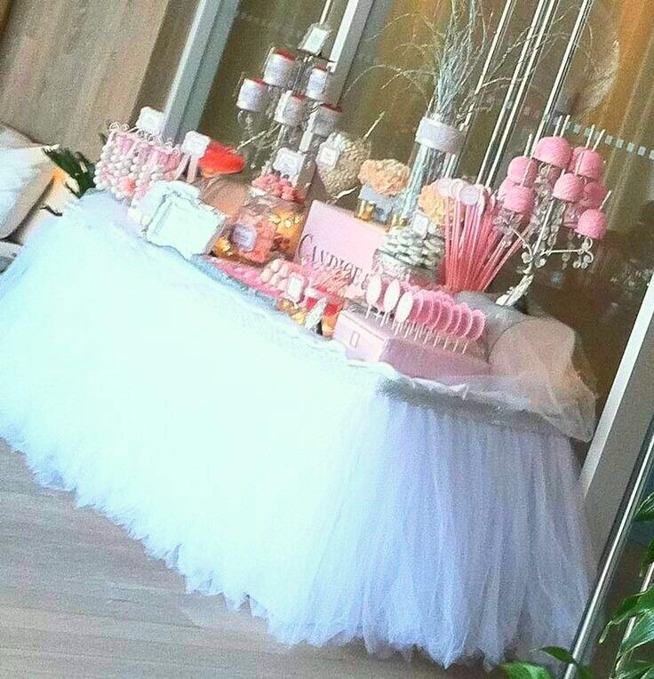 5846fde4e Mantel Tutu Faldones Tul Fiestas Eventos Princesas