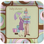 Manteleria Importada Baby Shower Glamour Chick Unisex.