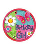 Manteleria Importada Garden Girl,ladybug,mariquita,mariposas
