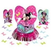 Centro De Mesa Minnie Mouse Disney.