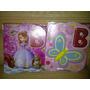 Afiche Bienvenidos Princesa Sofia Mariposas Peppa Lalaloopsy