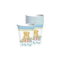 Manteleria Infantil Importada Usa Osito Baby Shower Varón!