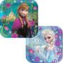 Frozen Manteleria Elsa Anna Platos Para Fiesta Importados