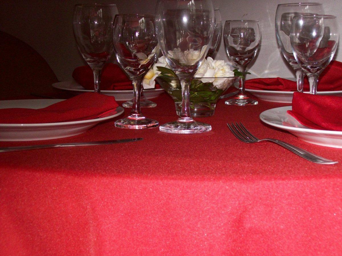 Manteles grandes exclusivo y maravilloso mantel de hilo y - Manteles mesas grandes ...