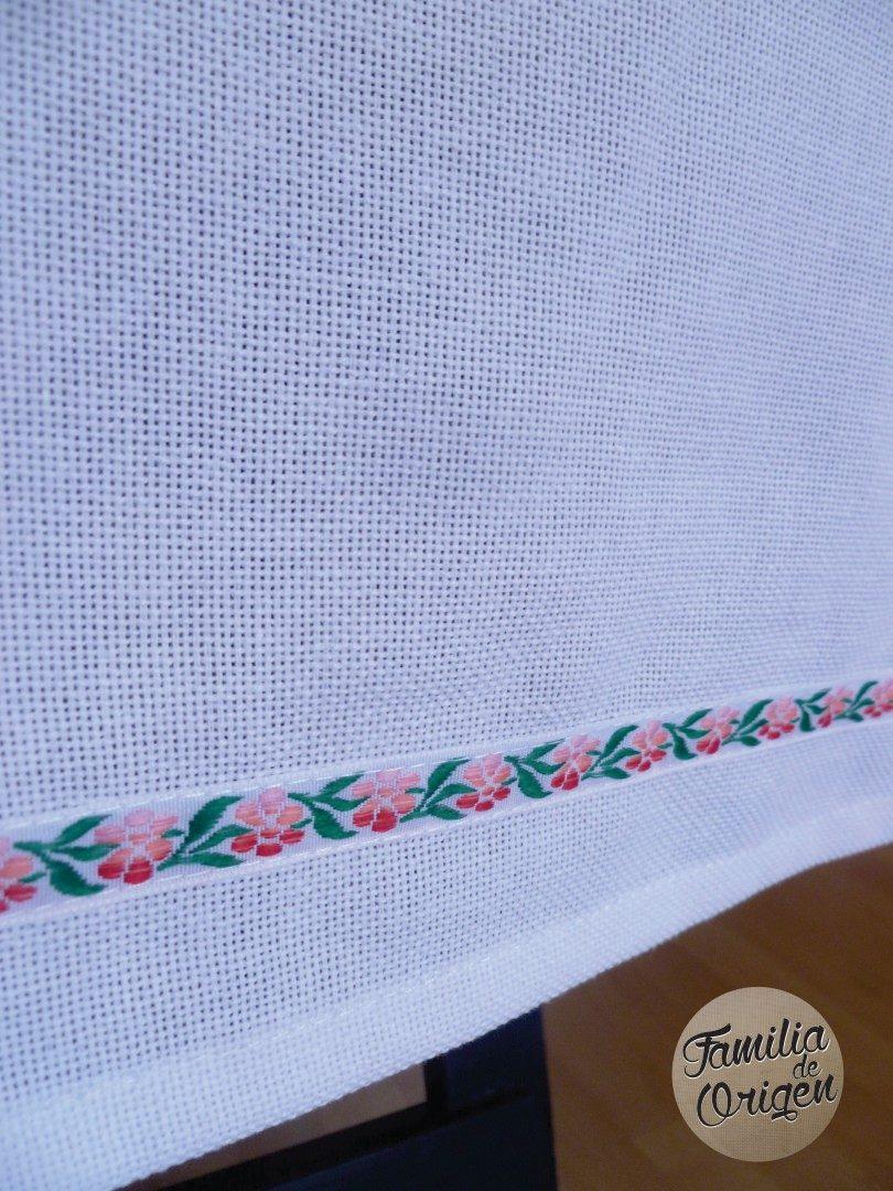 manteles de algodon blanco originales