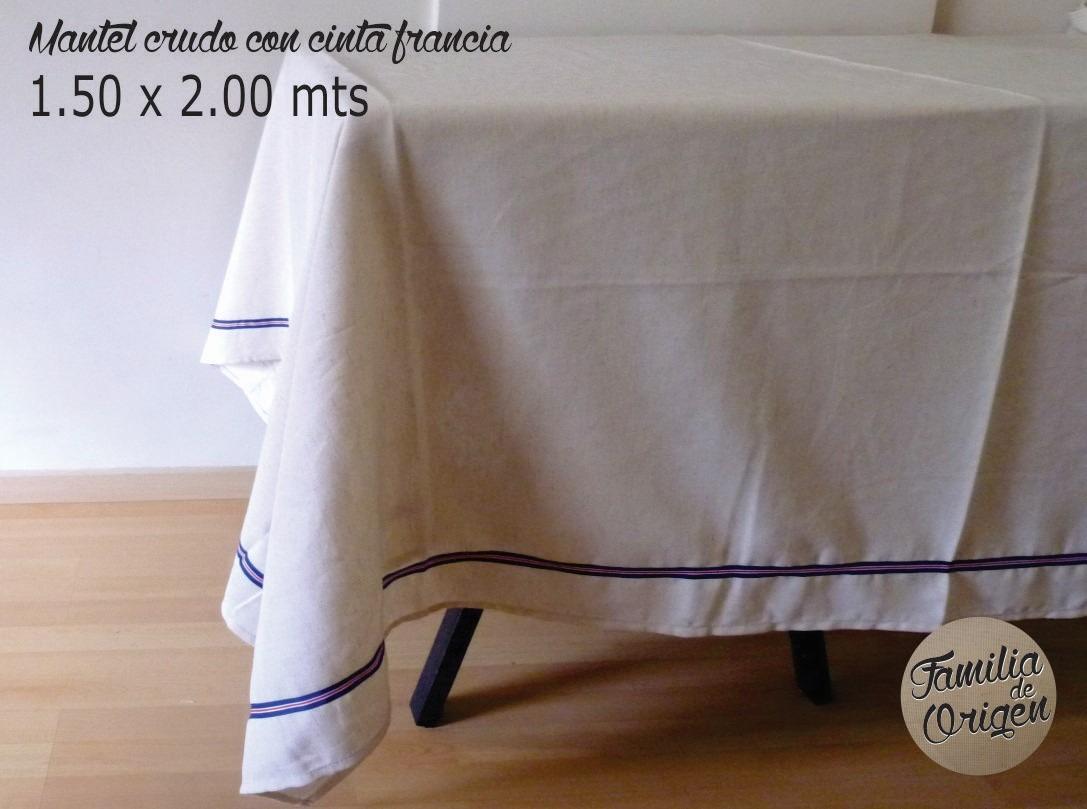 manteles de algodon crudo originales with manteles originales