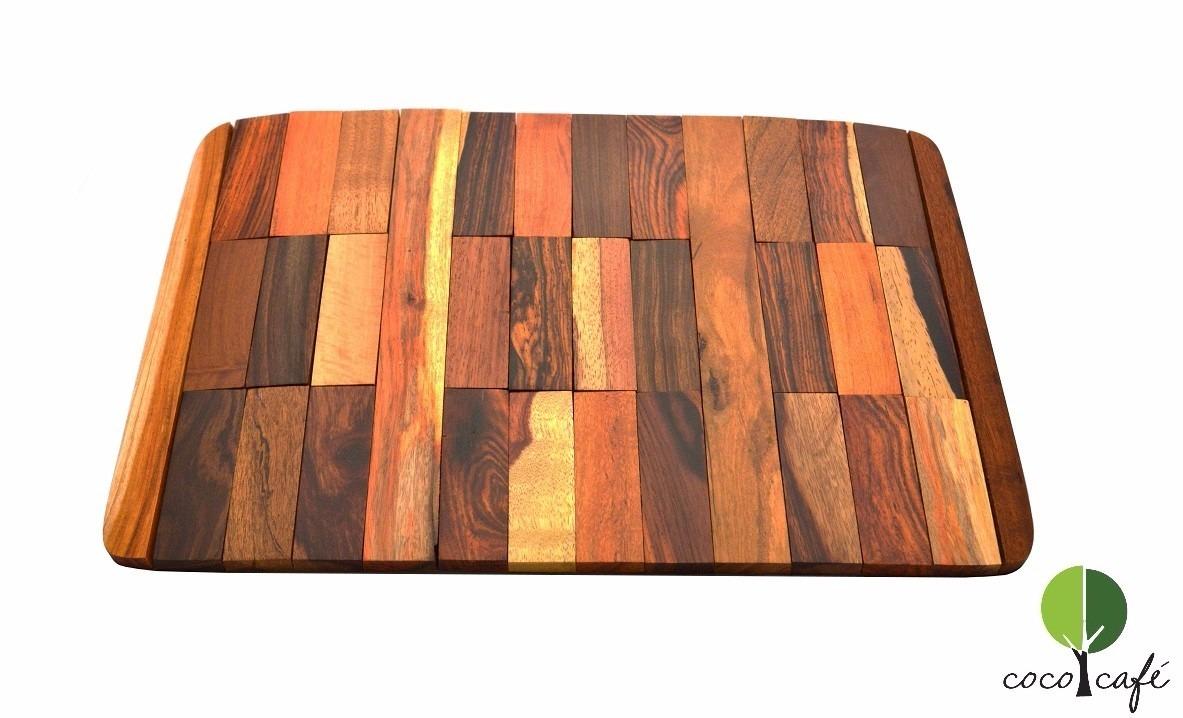 manteles individuales de madera en mercado libre