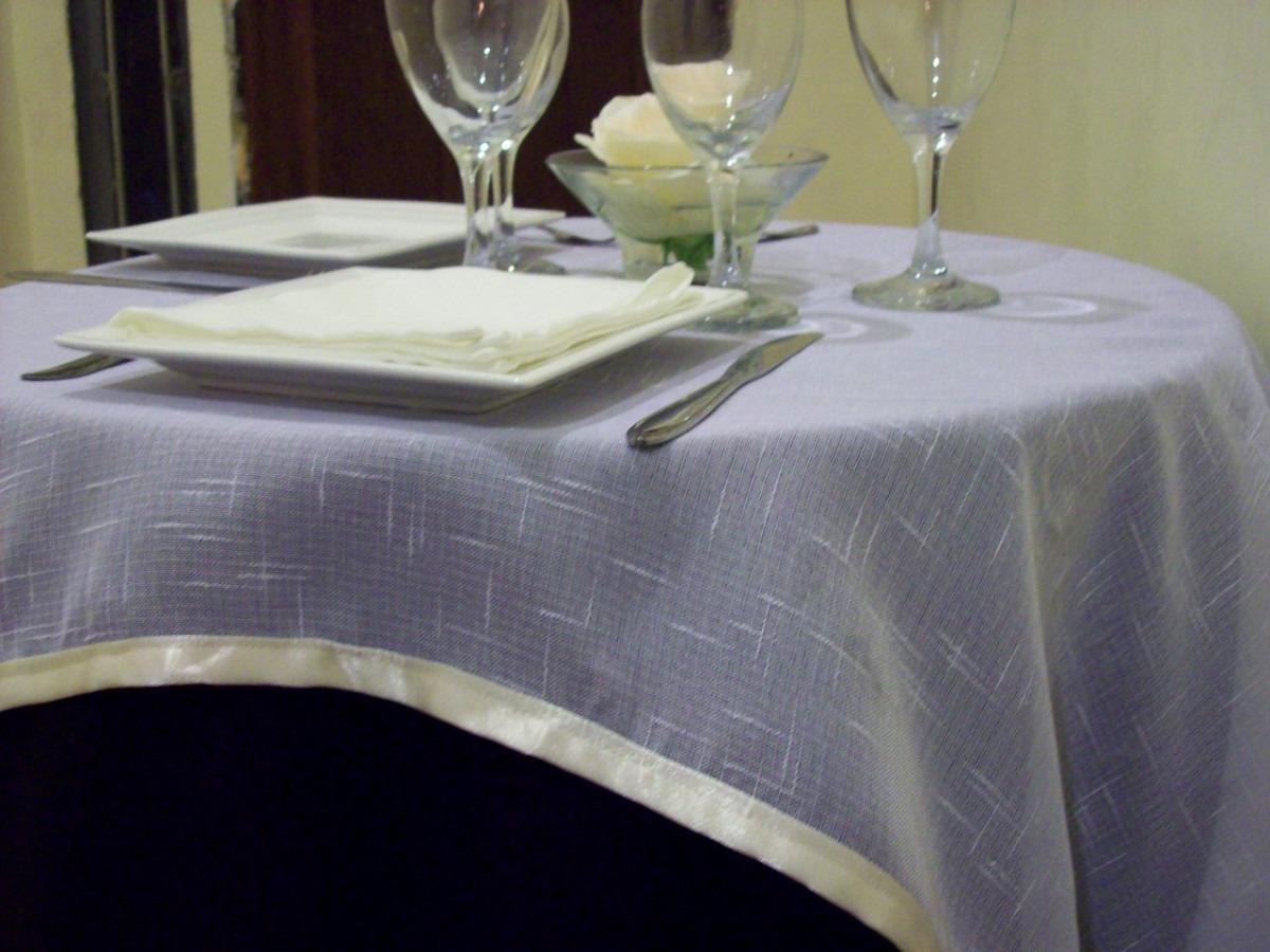 Manteles largos nuevos para mesas buffet o congresos for Manteles de mesa