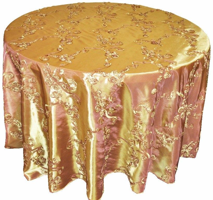 Manteles para mesa redonda manteles para eventos for Manteles de mesa