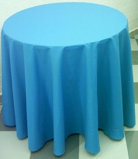 Manteles redondos en panama diametro color a eleccion - Tipos de manteles ...