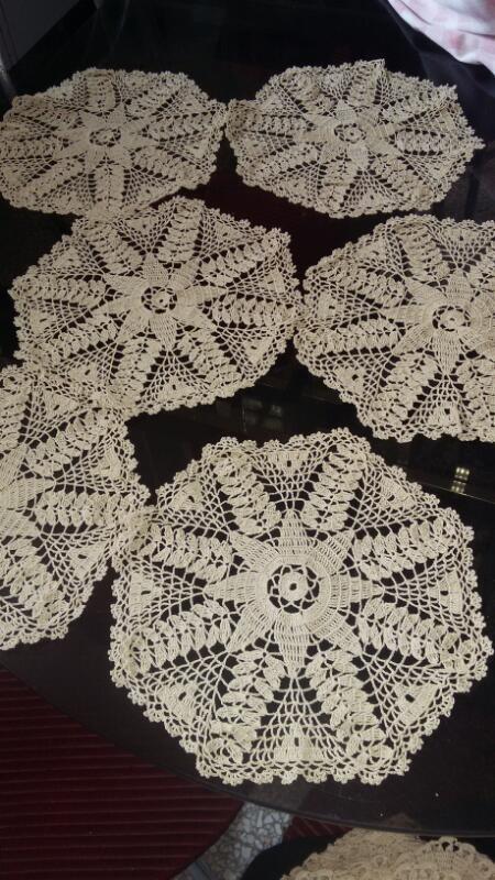 Manteles Tejidos A Mano Decoracion Crochet - Bs. 750.000,00 en ...