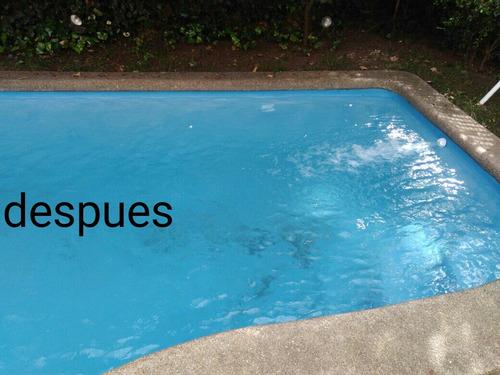 mantencion de piscina cleaning y soluciones tecnicas