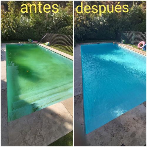 mantención  de piscinas , instalaciones de filtros y bombas