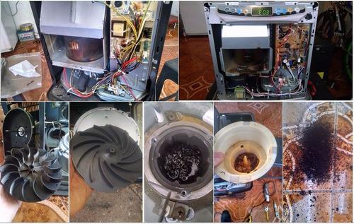 mantencion estufas laser parafina a domicilio