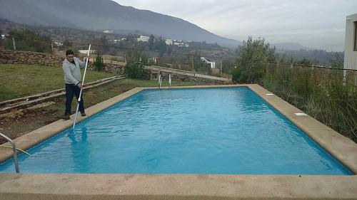 mantención, reparación, construcción piscinas