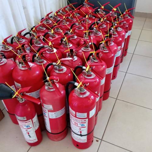 mantencion y recarga de extintores