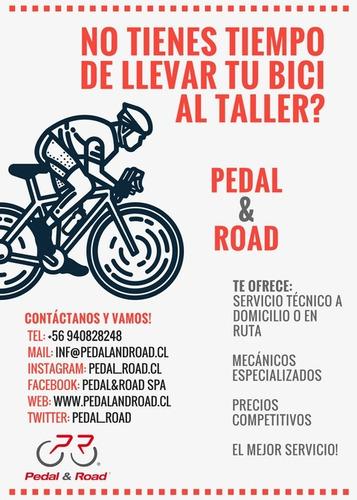 mantencion y reparación de bicicleta a domicilio