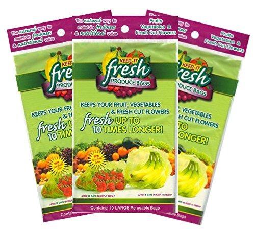 mantenerlo fresco reutilizable frescura producir bolsas de