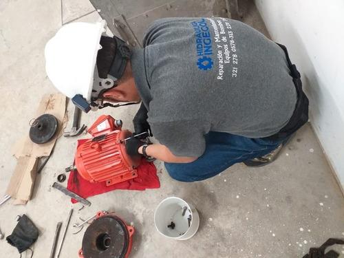 mantenimiento a equipos de bombeo de agua potable