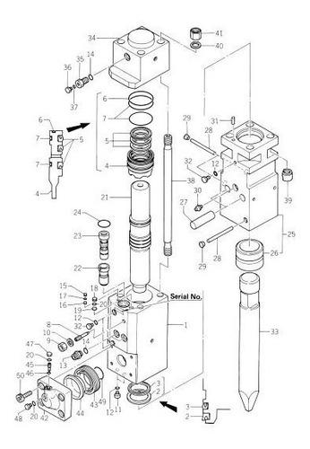 mantenimiento a martillos hidraulicos