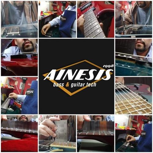 mantenimiento, ajuste y reparación de guitarras y bajos eléc