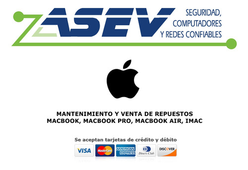 mantenimiento apple macbook, macbook air, macbook pro, imac