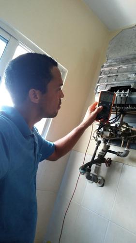 mantenimiento calentadores de aguas