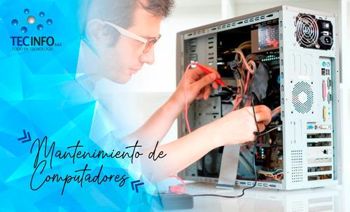 mantenimiento computadores