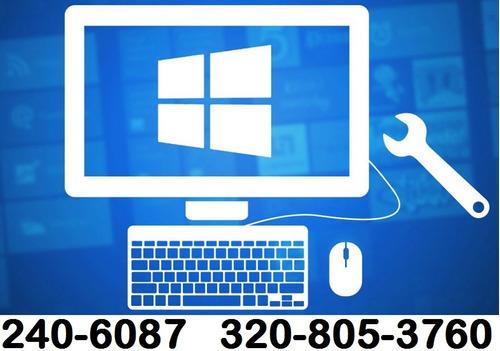 mantenimiento computadores a domicilio y empresas bogota