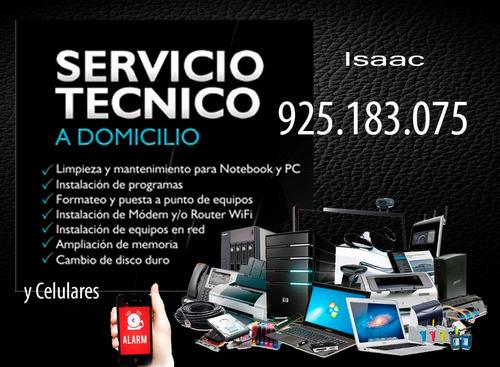 mantenimiento, configuración, venta de cómputos y accesorios