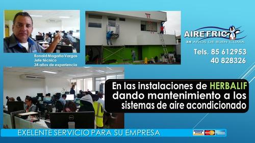 mantenimiento de aire acondicionado casas, oficinas, locales