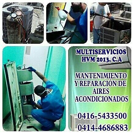 mantenimiento de aires acondicinados e instalaciones